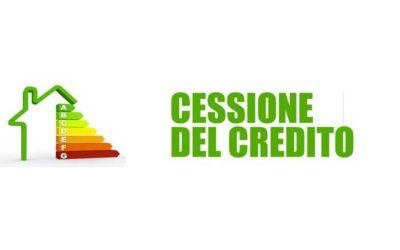 Cessione del credito infissi